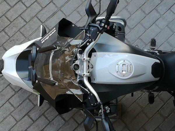 deflectores moto